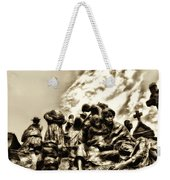 Death In The Time Of The Irish Famine Weekender Tote Bag