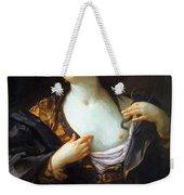 Death Of Cleopatra 1598 Weekender Tote Bag