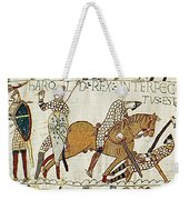 Death Of Harold, Bayeux Tapestry Weekender Tote Bag
