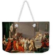 Death Of Julius Caesar Weekender Tote Bag