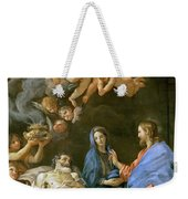 Death Of Saint Joseph Weekender Tote Bag