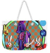 Death Takes His Bunny Friends To The Circus Weekender Tote Bag