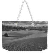 Death Valley Dunes Black And White Weekender Tote Bag