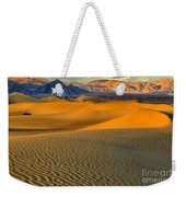 Death Valley Golden Hour Weekender Tote Bag