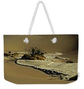 Death Valley Salt Weekender Tote Bag