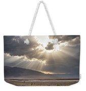 Death Valley Sun Burst Weekender Tote Bag