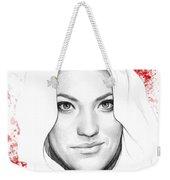 Debra Morgan Portrait - Dexter Weekender Tote Bag