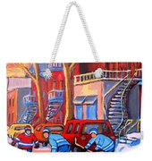 Debullion Street Hockey Stars Weekender Tote Bag