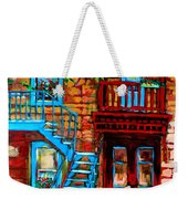 Debullion Street Neighbors Weekender Tote Bag