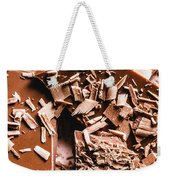 Decadent Chocolate Background Texture Weekender Tote Bag