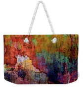 Decadent Urban Red Wall Grunge Abstract Weekender Tote Bag