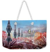 Decalcomaniac Transmission Towers Weekender Tote Bag