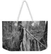 Decayed Stump Weekender Tote Bag