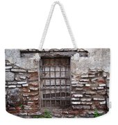 Decaying Wall And Window Antigua Guatemala 2 Weekender Tote Bag