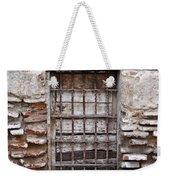 Decaying Wall And Window Antigua Guatemala 3 Weekender Tote Bag