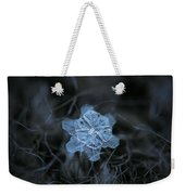 December 18 2015 - Snowflake 2 Weekender Tote Bag by Alexey Kljatov
