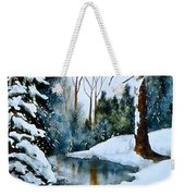 December Beauty Weekender Tote Bag