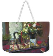 December Morning Light Weekender Tote Bag
