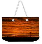 December Nebraska Sunset 002 Weekender Tote Bag