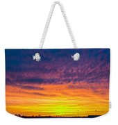 December Nebraska Sunset 003 Weekender Tote Bag