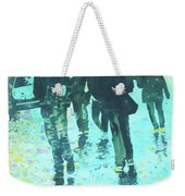 December Rain In Nurnberg Weekender Tote Bag