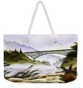 Deception Pass Bridge Weekender Tote Bag
