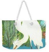 Deco Egret Weekender Tote Bag