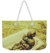 Decomposition Of A Murder Mystery Weekender Tote Bag