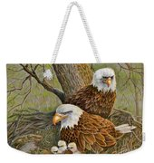 Decorah Eagle Family Weekender Tote Bag