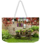Half-timbered House, Riquewihr, Alsace,france  Weekender Tote Bag