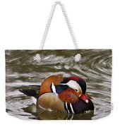Decorated Duck Weekender Tote Bag