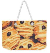 Decorated Shortbread Mummy Cookies Weekender Tote Bag