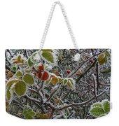 Decorated With Leaves Weekender Tote Bag