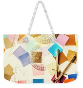Decoration In Symmetry Weekender Tote Bag