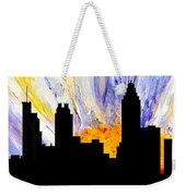 Decorative Abstract Skyline Atlanta T1115a1 Weekender Tote Bag by Mas Art Studio