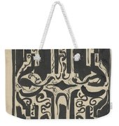 Decorative Design, Carel Adolph Lion Cachet, 1874 - 1945 H Weekender Tote Bag