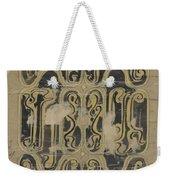 Decorative Design, Carel Adolph Lion Cachet, 1874 - 1945 Vq Weekender Tote Bag