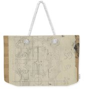 Decorative Design, Carel Adolph Lion Cachet, 1874 - 1945 W Weekender Tote Bag
