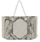 Decorative Design With Angels, Carel Adolph Lion Cachet, 1874 - 1945 Weekender Tote Bag