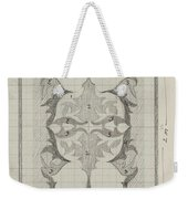 Decorative Design With Color Indications, Carel Adolph Lion Cachet, 1874 - 1945 Weekender Tote Bag