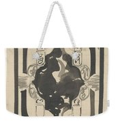 Decorative Design With Four Coats Of Arms, Carel Adolph Lion Cachet, 1874 - 1945 Weekender Tote Bag