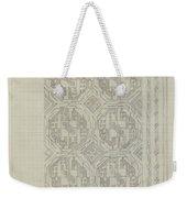 Decorative Design With Geometric Motif, Carel Adolph Lion Cachet, 1874 - 1945 Weekender Tote Bag