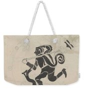 Decorative Design With Hares, Carel Adolph Lion Cachet, 1874 - 1945 Weekender Tote Bag