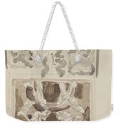 Decorative Designs With Seated Figures, Carel Adolph Lion Cachet, 1874 - 1945 Weekender Tote Bag
