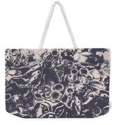 Decorative Dog Design Weekender Tote Bag