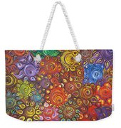 Decorative Flowers Weekender Tote Bag