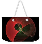 Decorative Globe Of Red Weekender Tote Bag