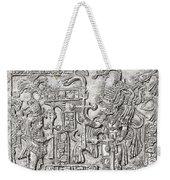 Decorative Lintel From The Ancient Weekender Tote Bag