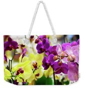 Decorative Orchids Still Life C82418 Weekender Tote Bag by Mas Art Studio