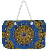 Decorative Pasta Collage Weekender Tote Bag